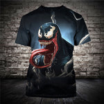 Spider Venom 3D Printed T-shirt for Men