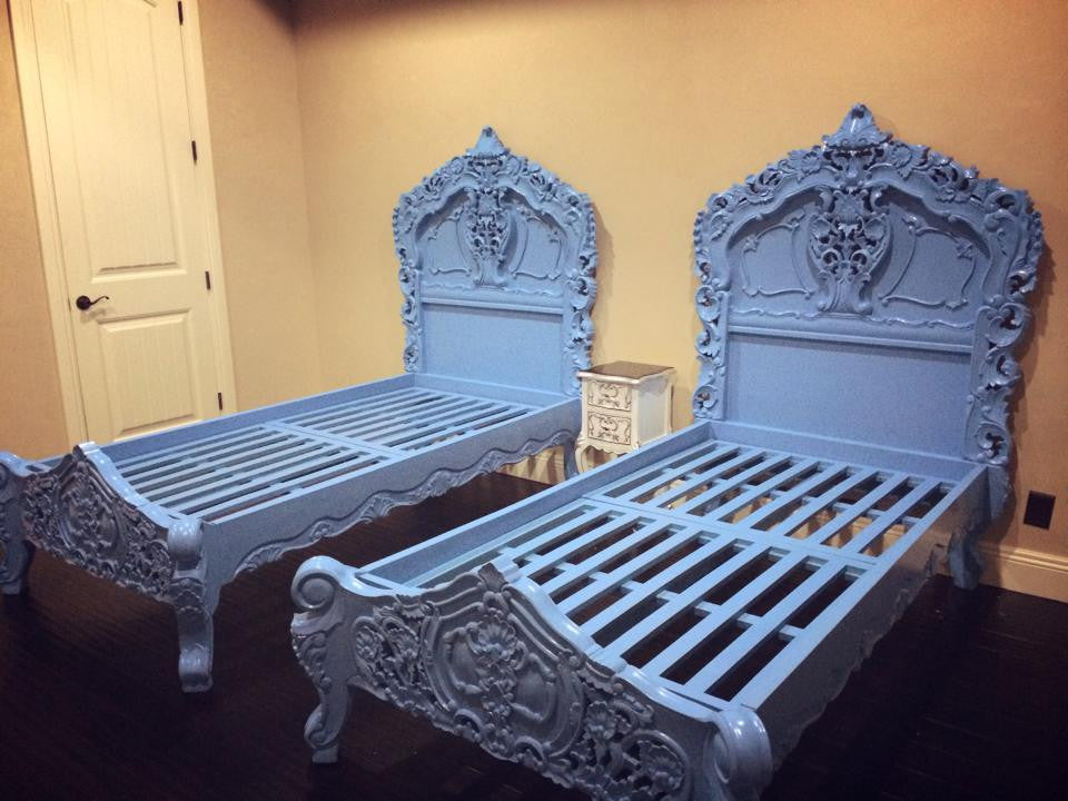 Fabulous and Rococo Bed - Blue Heaven - Client Photo