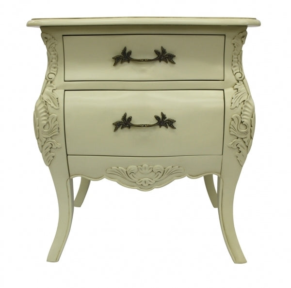 Bordeaux Side Table - Ivory