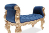 Fabulous and Baroque's Gryphon Reine Bench - Blue & Gold