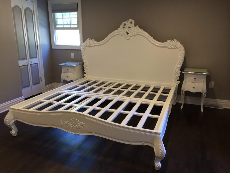 Babette Bed - White - Client Photo