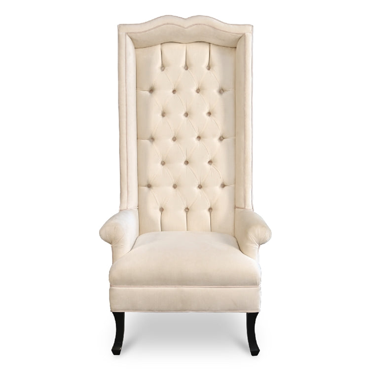 SWEETHEART COVERED HOSTESS DINING CHAIR