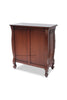 Josette 5 Drawer Carved Chest - Stain