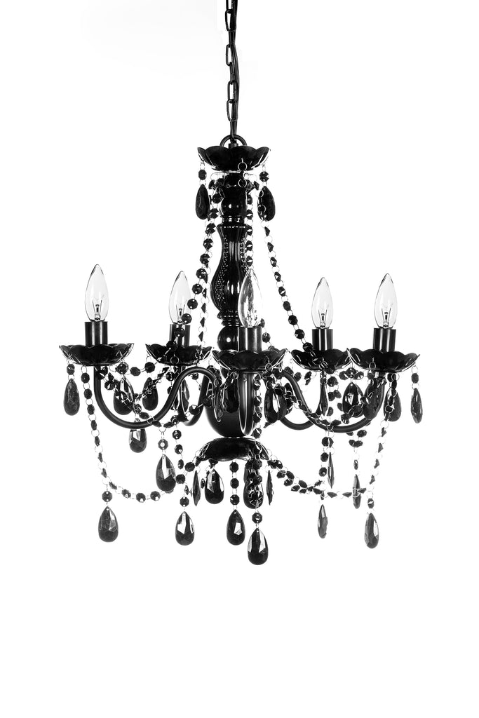 5 Light Chandelier Direct Connect - Assorted Colors