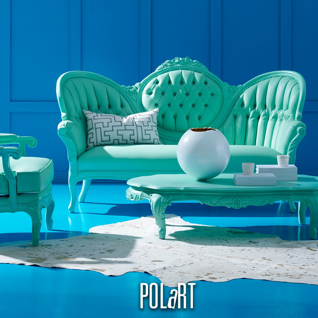 POLaRT Designs 606 Sofa & Coffee Table