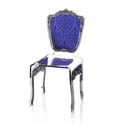 Baroque Chair - Purple