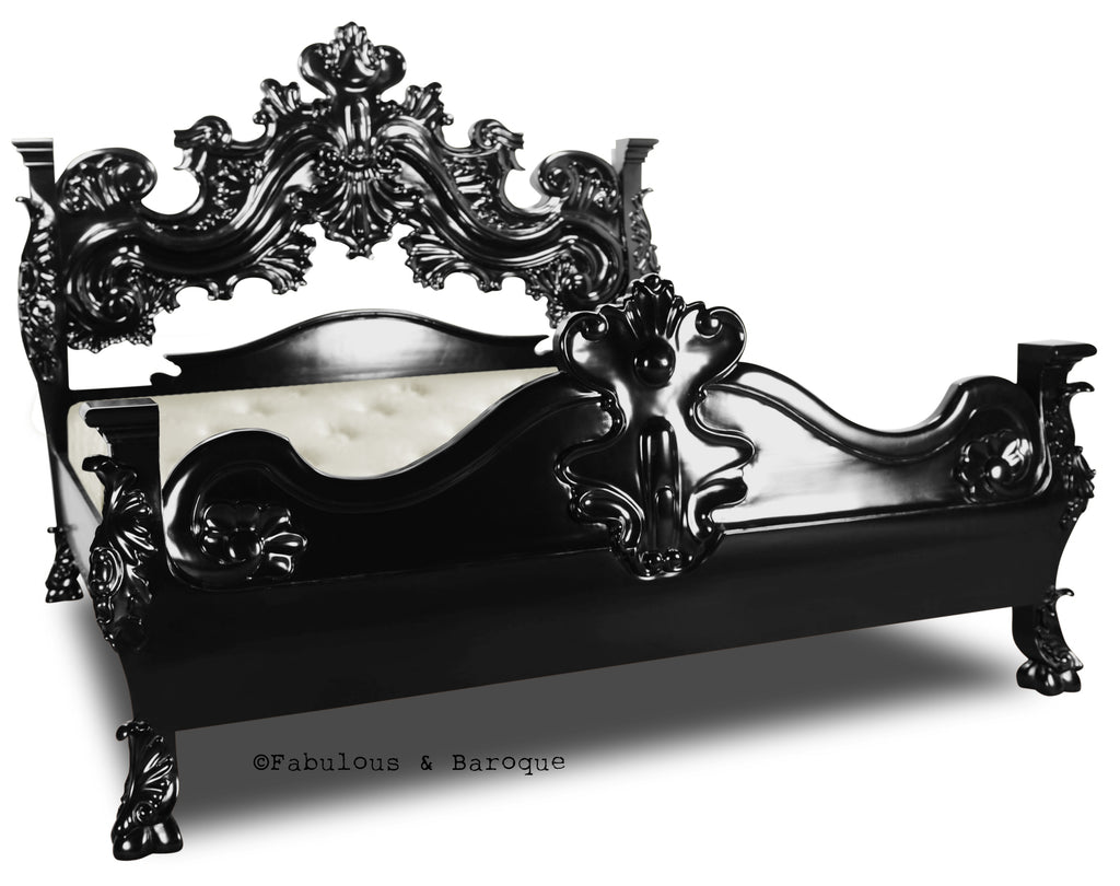 King Arthur Bed - Black
