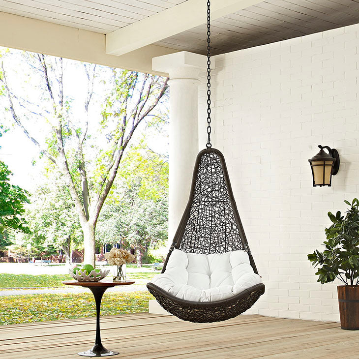 Abate Outdoor Swing w/ no stand front view