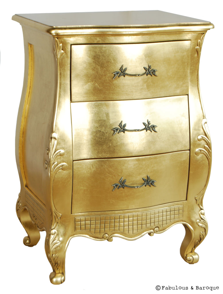 Fabulous & Baroque's Angelique Side Table - Gold