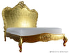 Babette Bed - Gold Leaf