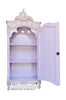 Christelle Single Door Mirrored Wardrobe - Lilac