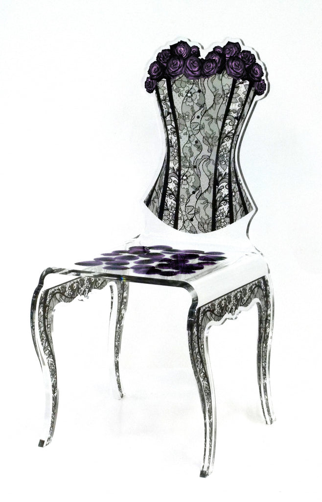 Eman Chair - Purple