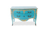 Louis XV Commode - Turquoise