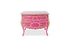 Liliana Bombay Chest - Pink & Gold