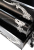 Night's Dream Chest of Drawers - Black & Silver - Client Photo
