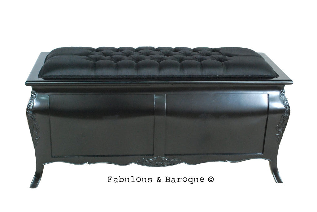 Bordeaux Upholstered Blanket Box