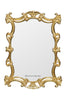 Celeste Mirror - Gold Leaf