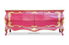 Night's Dream Chest of Drawers - Fuchsia & Gold