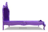 Babette Bed - Purple Chrome