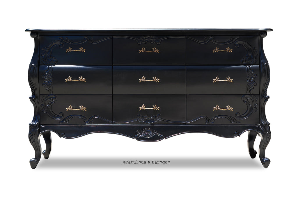 Night's Dream Chest of Drawers - Black