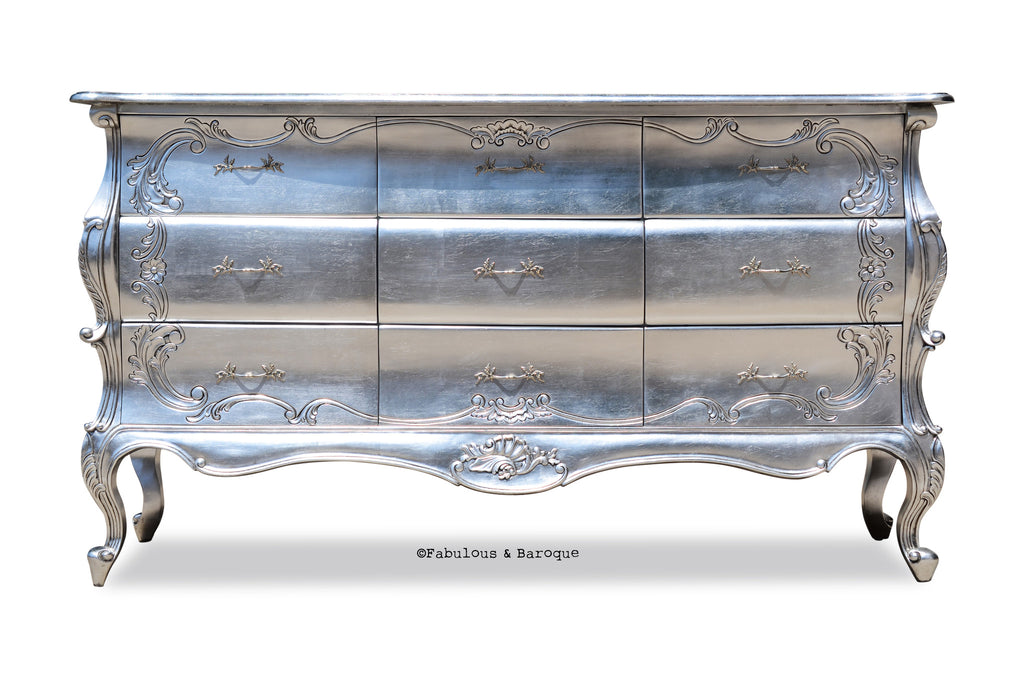 Night's Dream Chest of Drawers - Silver
