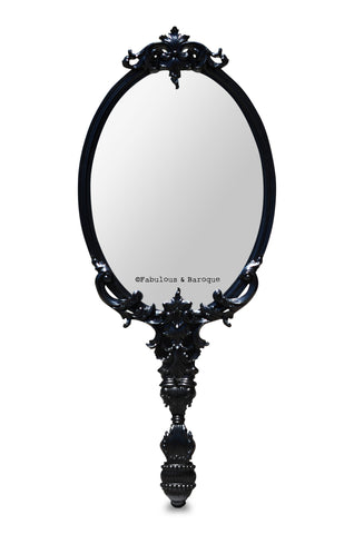 Isabella Mirror- Black