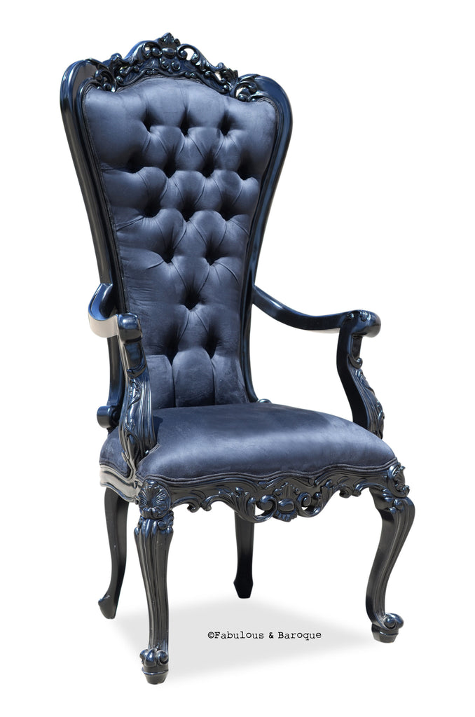 Gryphon Reine Arm Chair - Black