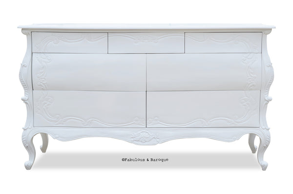 Night's Dream Chest of Drawers - White