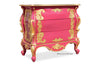 Night's Dream Side Table - Fuchsia & Gold