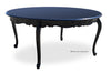 "Gigi 70"" Round Dining Table - Black"