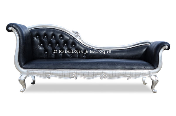 naples leather in dezign chaise seater black products lounge furniture lounges by