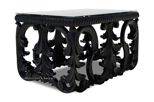Simone Coffee Table - Black - Small