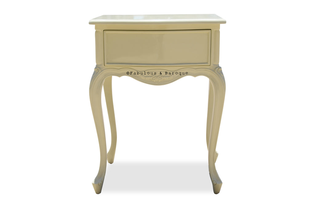 Sabine Side Table - Ivory
