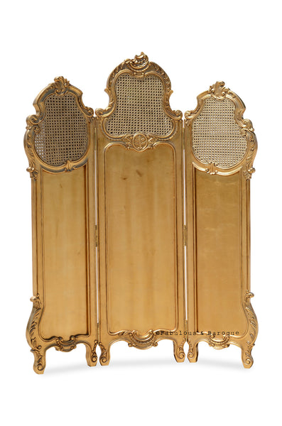 Gwenevere Dressing Screen- Gold Leaf
