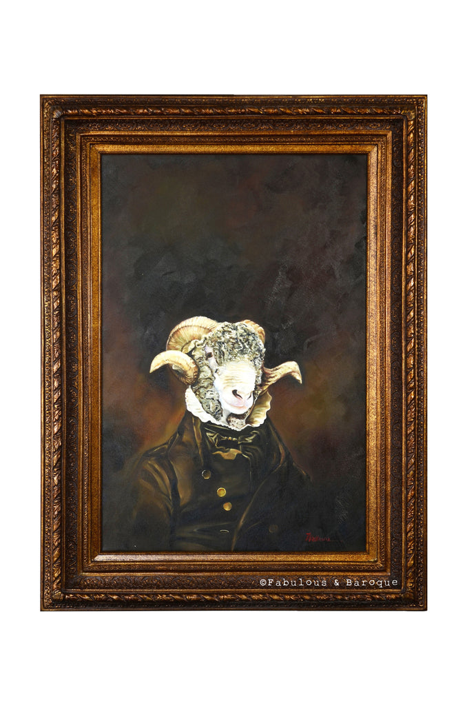Baroque Portrait Painting - Rupert the Ram