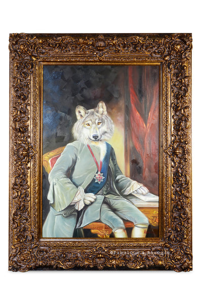 Baroque Portrait Painting - Winthrop the Wolf