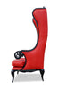 Fabulous and Baroque's Theban Chair - Red Croc