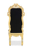 Noblesse Chair - Black & Gold