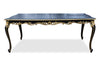 Absolom Roche Dining Table - Black & Gold