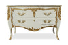 Louis XV Commode - Ivory & Gold