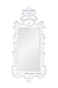 Pétale French Leaf Mirror - White