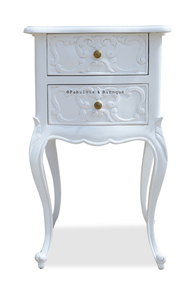 Josephine Petite Side Table - White