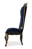 Gryphon Reine Side Chair - Black & Gold
