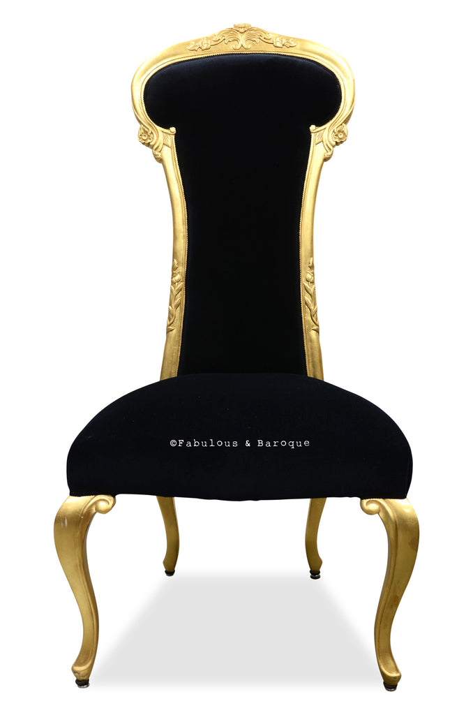Dauphine Chair - Gold Leaf