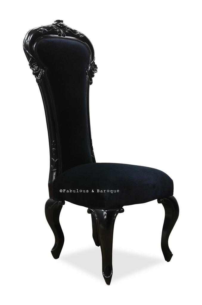 Dauphine Chair - Black