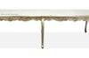 Versailles 10' Dining Table - Silver Leaf