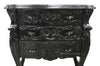 Fabulous & Rococo 3 Drawer Chest - Black