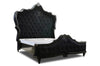 Ariana Tufted Bed - Black