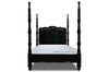 Elisabeta Spindle Bed - Black