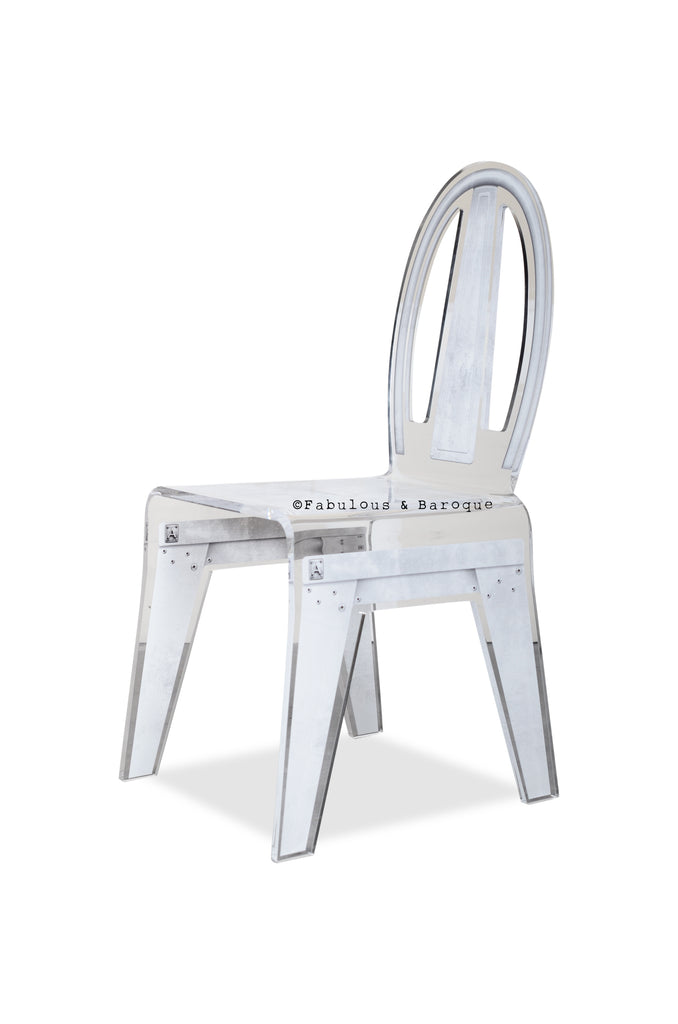 Factory Chair - Steel Grey